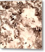 Leaf Stains Metal Print