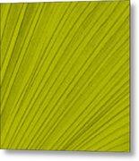 Leafy Leaf Metal Print
