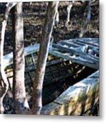 Leaky Boat Metal Print