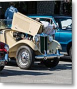 Leander Texas Car Show Viewing Metal Print