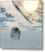 Leaps And Bounds Metal Print