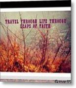 Leaps Of Faith Metal Print