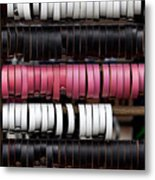 Leather Bracelets Metal Print