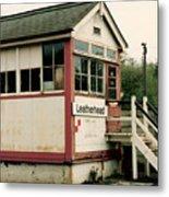 Leatherhead Station Metal Print