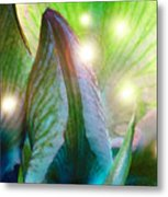 Leave Room In Your Garden For Fairies To Dance Metal Print