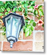 Leave The Porch Light On Metal Print