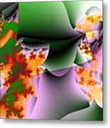 Leaves And Carpels Metal Print
