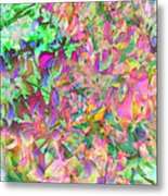 Leaves And Colors Metal Print
