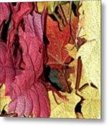 Leaves Fall Metal Print