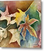 Leaves Of Autumn Metal Print