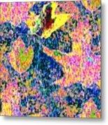 Leaves Of Flurry 1 Metal Print
