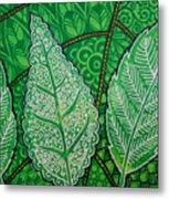 Leaves Of Spring Metal Print
