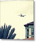 Leaving On A Jet Plane 1      Metal Print