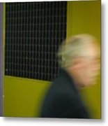 Leaving Quickly Metal Print