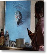 Lebwoski Makes His Peace With The Eagles - The Big Lebowski Metal Print
