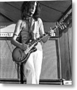 Led Zeppelin Jimmy Page '69 Metal Print