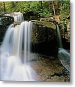 Ledge Brook - White Mountains New Hampshire Usa Metal Print