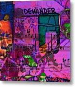 Lee Sidewinder Morgan Metal Print
