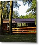 Lee's Ranch 5 Metal Print