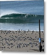 Dockwieler Beach Left Metal Print