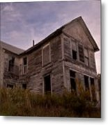 Left Empty To Fall Metal Print