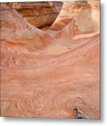 Left On The Wave Metal Print
