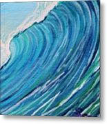 Lefthand Wall Of Water Metal Print
