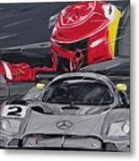 Legend Michael Schumacher Metal Print