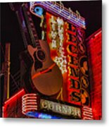 Legends Corner Nashville Metal Print
