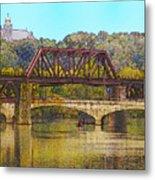 Lehigh River - Easton Pa Metal Print