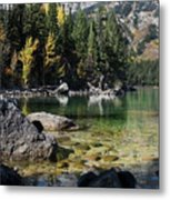 Leigh Lake Cove Metal Print