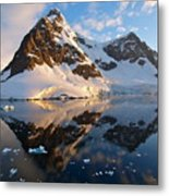 Lemaire Channel Antarctica 133 Metal Print