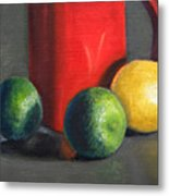 Lemon And Limes Metal Print