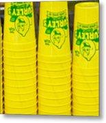 Lemon Cups Metal Print