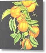 Lemon Mandarine Suite Metal Print