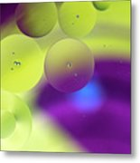 Lemon Merengue Metal Print