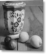 Lemons And Limes Metal Print