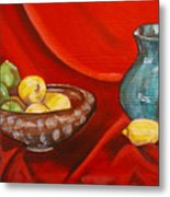 Lemons And Limes Metal Print