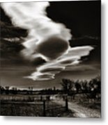 Lenticular Clouds Of Colorado Metal Print