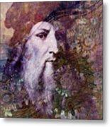 Leonardo Metal Print