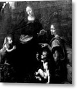 Virgin Of The Rocks Metal Print
