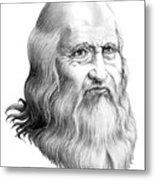 Leonardo Da Vinci Metal Print