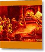 Leopold's Storytime Metal Print