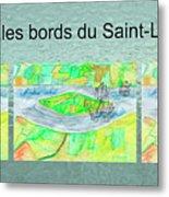 C'est Sur Les Bords Du Saint-laurent Mug Shot Metal Print