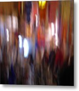 Les Couleurs Du Souk II Metal Print by Artecco Fine Art Photography
