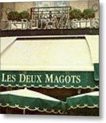Les Deux Magots - #1 Metal Print