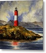 Les Eclaireurs Lighthouse Metal Print
