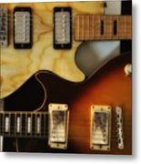 Les Paul - Come Together Metal Print