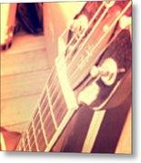 Les Paul Guitar Metal Print