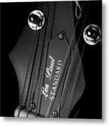 Les Paul Metal Print